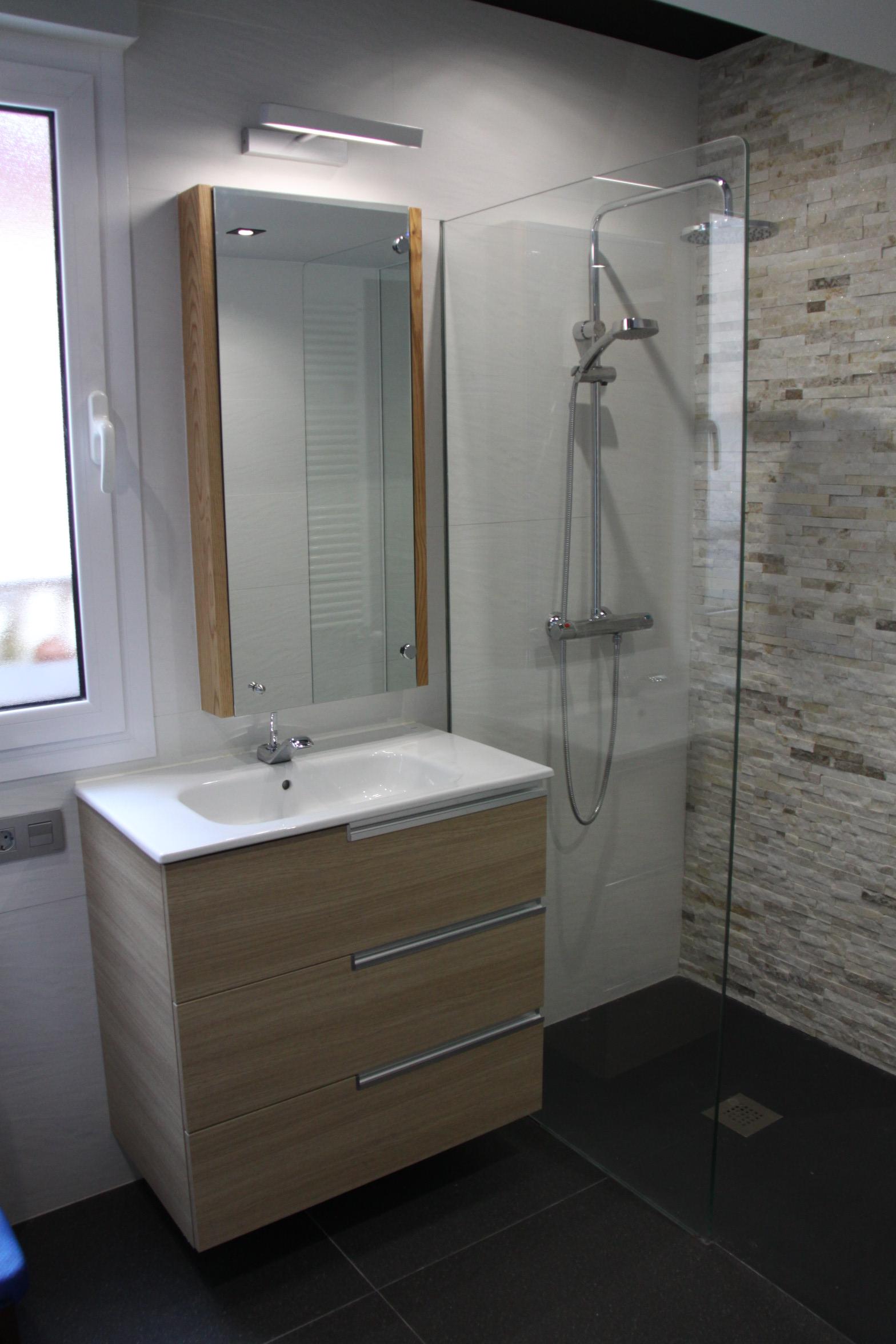 Ba o pequeno con ducha medidas - Banos modernos pequenos con ducha ...
