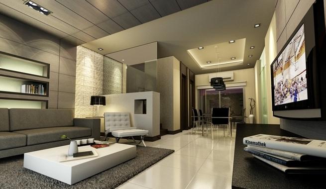 Decoraci n para el sal n atelier32 - Salones con estilo moderno ...