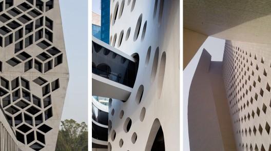 Edificios Fachadas De Hormigon Perforado Atelier32
