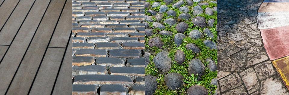 Pavimentos urbanos atelier32 for Solados para jardines